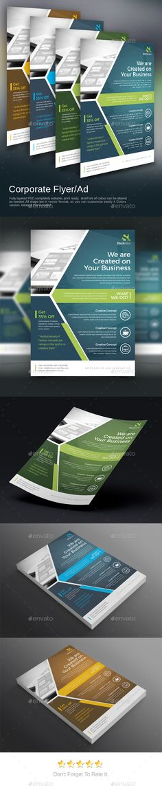 In  Minimal FlyerPoster Vol  Minimal Flyer Template And