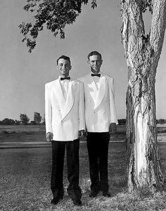 Chet and Ricky ~ world's first legal same sex marriage, 1950's Idaho