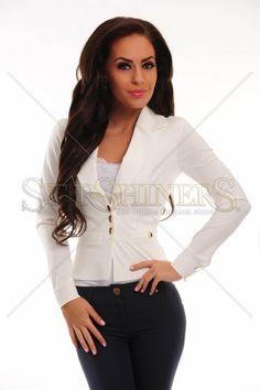 Sacou PrettyGirl Radiancy White