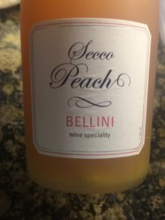 Bellini Secco Peach 2016 | Wine Info Trader Joe's April 2016 at Trader Joe's