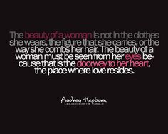 ~the beauty of a woman
