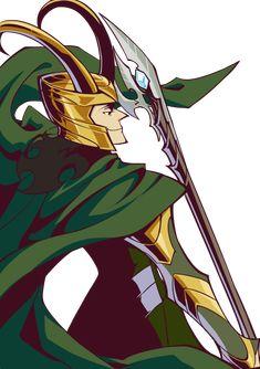 PV Series The Avengers Loki by ~woshibbdou on deviantART
