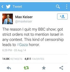 Free gaza; free Palestine. BBC NEWS IS PRO ISRAELI THEY HIDE THE TRUTH ABOUT GAZA. Do your own research on Israel's war crimes stop killing innocent people! Pass it on share the news