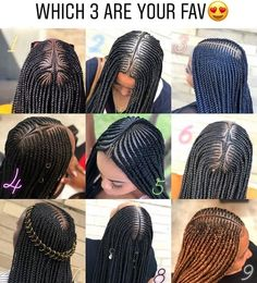 Long Box Braids: 67 Hairstyles To Upgrade Your Box Braids - Hairstyles Trends Box Braids Hairstyles, Braided Hairstyles For Black Women Cornrows, Braids Hairstyles Pictures, Braids Wig, African Hairstyles, Ghana Braids, Hairstyles 2018, Black Girl Braids, Braids For Black Hair