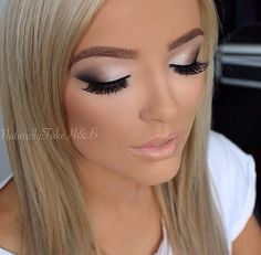 gorgeous makeup .. def something i would consider for my wedding