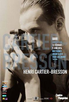 Henri Cartier-Bresson - Centre Pompidou - Du Mercredi 12 février 2014 au lundi 9 juin 2014