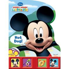 Giant First Play A Sound Book Mickey Mouse