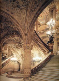 Charles Garnier – Stairway, Opéra Garnier, Paris