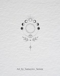 moon phases botanical illustration moon phases botanical illustration tattoo - tattoo quotes - tattoo fonts - watercolor tattoo - dog tattoo - tiny tattoo - flower tattoo - mermaid tattoo - diy tattoo - diy tattoo images - diy tattoo i Mini Tattoos, Cute Tattoos, Beautiful Tattoos, New Tattoos, Body Art Tattoos, Tattoo Drawings, Tattoo Sketches, Crown Tattoos, Heart Tattoos