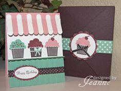 Cupcake Shop by Penny627 - Cards and Paper Crafts at Splitcoaststampers