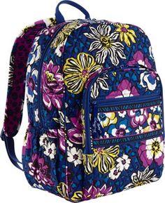 Vera Bradley Campus Backpack  African Violet - via eBags.com!