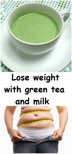 Lose weight with green tea and milk - Inspire Beauty Care