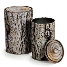Woodstock Storage Containers are a set of two log shaped tins. Buy Woodstock Storage Containers and kitchen accessories from Mocha. Woodstock, Monkey Business, Plastic Container Storage, Storage Containers, Pen Storage, Container Store, Wood Storage, Kitchen Storage, Design3000
