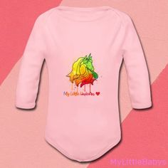 My Little Unicorn, One Design, Children, Kids, Onesies, Baby, Clothes, Fashion, Child Care