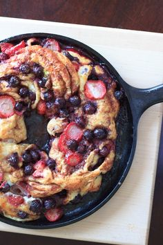 Berries stuffed inside delicious cinnamon swirl bread and baked to perfection. Much easier than it looks! .
