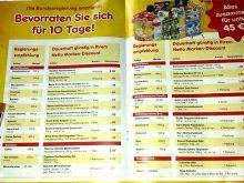 αποθήκευση τροφίμων στη Γερμανία Periodic Table, Food, 10 Days, Periodic Table Chart, Periotic Table, Essen, Meals, Yemek, Eten