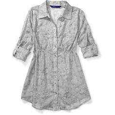 Miley Cyrus & Max Azria - Juniors Printed Lace Tunic: Juniors : Walmart.com