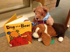 """Stuffed Animal Sleepover at the Library - You could have the kids come to the library with their stuffed animals show the animals all around and then have them """"sleepover"""". You would take pictures of what the animals would be doing when the kids were at home."""