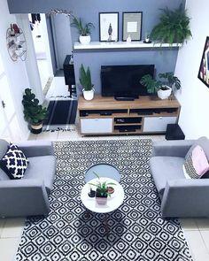Trendy Home Interior Design On A Budget Ideas Small Living Room Decor, Industrial Decor Living Room, Bedroom Interior, Apartment Living Room, Blue Living Room Decor, Living Room Decor Apartment, Home Decor, Interior Design Bedroom, Apartment Decor