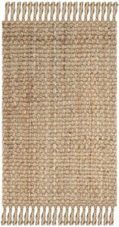 Fixer Upper Entry Jute Rug. (affiliate link) Safavieh Natural Fiber Collection NF467A Hand Woven Natur...
