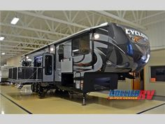 One of our favorite toy haulers -- New 2015 Heartland Cyclone 4200 Toy Hauler Fifth Wheel at Collier RV | Rockford, IL | #292111