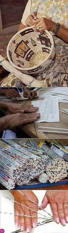 Fundamentos de tejer de periódicos y revistas ..