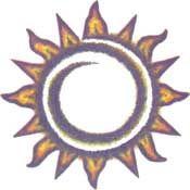 Playful Sun Ring Tattoo