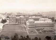 Royal Prince Alfred Hospital, Camperdown,inner Sydney in c1880-1893.Photo from Dictionary of Sydney.A♥W