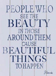 See beauty
