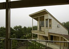 Sculptural Oregon Coast Beach House by Boora Architects: