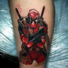 Tattoos #04: 25 Novas Imagens da Cultura Pop #tattoo #tatuagem #deadpol #marvelcomics #comicstattoo #tattoogamer #superherotatoo #geektattoo #nerdtattoo #PipocaComBacon