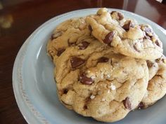 The Cozy Little Kitchen: Sea Salt Double Chocolate Chip Cookies  *these are about to happen.
