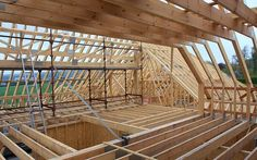roof truss rooms - Google Search