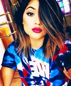 {fc: Kylie Jenner} Kylie) hi, I'm Kylie! I'm 19! I'm from Bankston, if you know where that is... I have two brothers and a father... My mom passed away... But yah! I love to dance and sing! Intro?