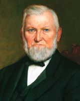 Wilford Woodruff - Basic Facts--4th President of the Church of Jesus Christ of Latter-day Saints, served from 1887 to 1898