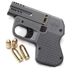 The Doubletap Titanium Pocket Pistol by Heizer Defense
