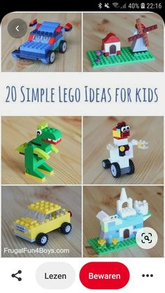 Lego For Kids, Legos, Christmas Ornaments, Toys, Holiday Decor, Simple, Activity Toys, Lego, Christmas Jewelry