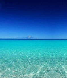 Sarti in Sithonia peninsula, Chalkidiki (Mount Athos on the horizon...)