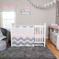 Cotton Candy - 3pc Crib Bedding Set