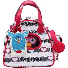 Cute Furby Boom. IN BOWLING BAG!