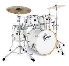 Gretsch-Drums-RNE624-Renown-Maple-Piano-White