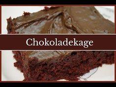 Chokoladekage opskrift på lækker svampet chokoladekage med billeder