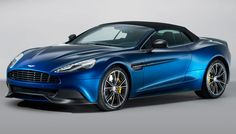 The 2014 Aston Martin Vanquish Volante not only offers top-down thrills from its 565 hp, 6.0-liter V-12 engine but also is the first convertible from the famed British marque to have a body completely composed of carbon fiber.