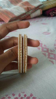 it's very simple nd nice bangles
