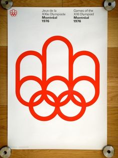 1976 Montreal Olympic Poster