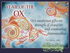 Chinese Zodiac Ox years are Get in-depth info on the Year of the Ox traits & personality! Ox Chinese Zodiac, Chinese Astrology, Name Astrology, What Is Birthday, Animal Meanings, Sign Meaning, Zodiac Calendar, Blank Calendar Template, Saggitarius