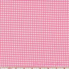 Bunny Hill Designs Celebration Gingham Check Pink (Dirndl à la McCalll's 5318)