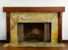 Great Pics craftsman Fireplace Tile Suggestions The time for anyone exposed bric… – farmhouse fireplace tile Fireplace Tile Surround, Fireplace Art, Concrete Fireplace, Custom Fireplace, Marble Fireplaces, Fireplace Remodel, Fireplace Surrounds, Fireplace Design, Bathroom Fireplace