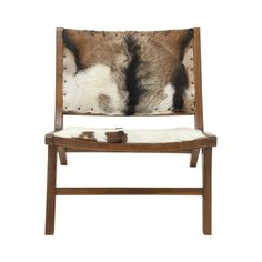 A work of art, or an enticing piece of Western décor? You decide, as you take in the riveting details of this Ten Gallon Lounge Chair. We've not seen anything like this exceptional blend of a natural wood frame, along with seat and back sections made from leather hide pieces reflecting realistic animal images.