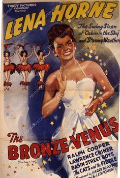 Lena Horne film Bronze Venus 35m-5213